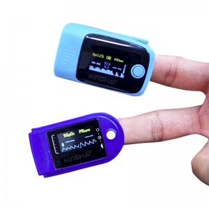 Kinghat Portable Oxygen Finger Monitor, Finger Tester with Colorful LED Display