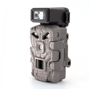 Camera Trail Cam, 4K+FHD Ultra HD Video, 48MP CMOS Motion Sensor with Night Vision, Photo Burst, Time Lapse, 256GB, External flash, Hunting/Wildlife Camera